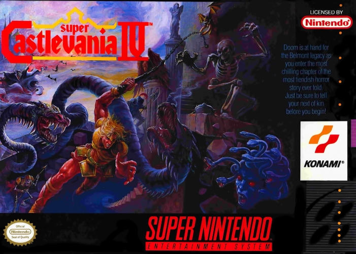 Super Castlevania IV on the SNES