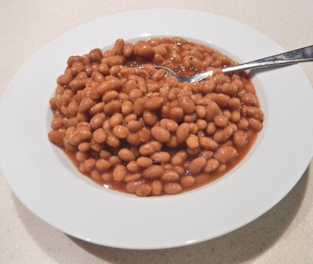 Baked bean on toast
