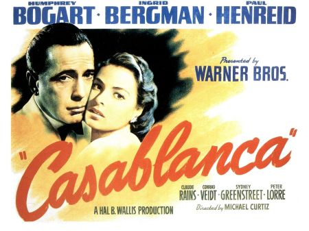 Casablanca - Here's looking at you, kid