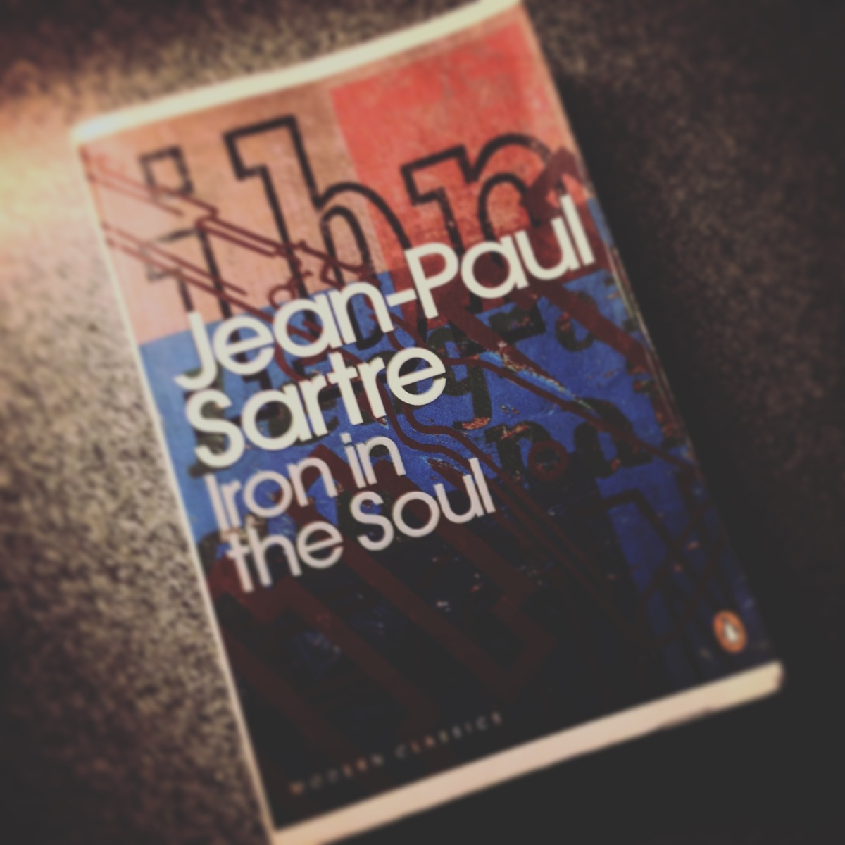Book of da Week: Iron in the Soul by Jean-Paul Sartre