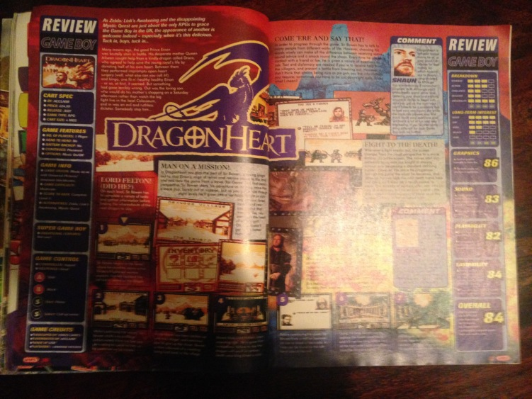 Dragonheart - GameBoy