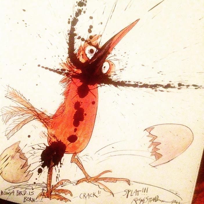 How a Bird is Born - Boids