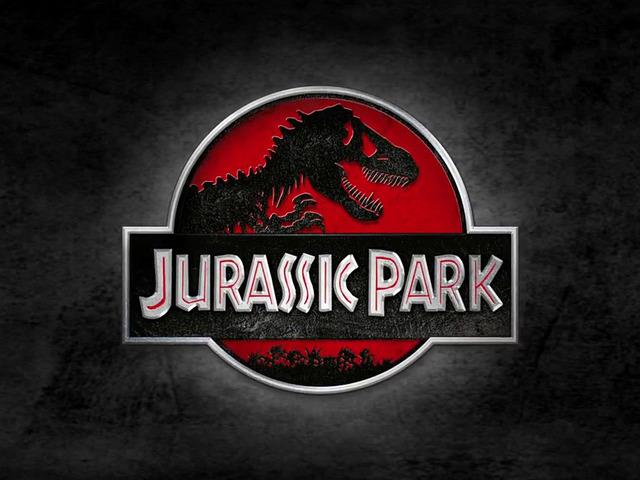 Jurassic Park (1993) movie logo
