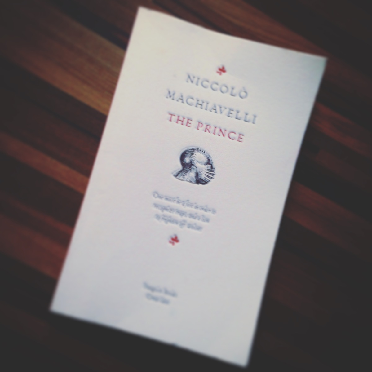 book of da week the prince by niccol ograve machiavelli professional book of da week the prince by niccolograve machiavelli professional moron