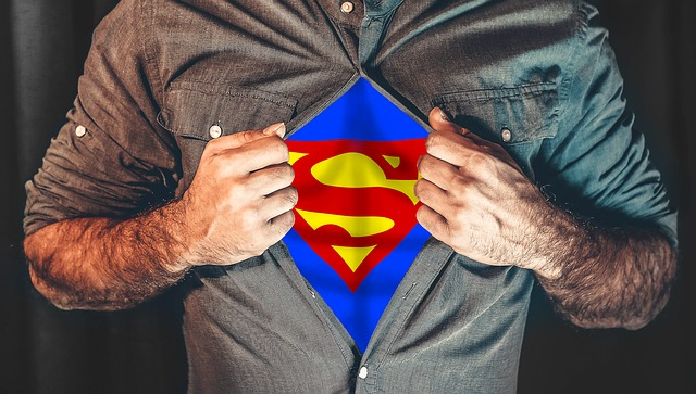 Ditch that zero and find yourself a hero - like Superman