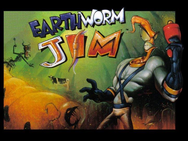 Earthworm Jim - SNES and Mega Drive