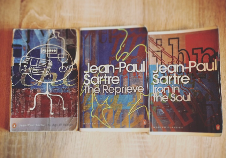 The Roads to Freedom trilogy - Jean-Paul Sartre