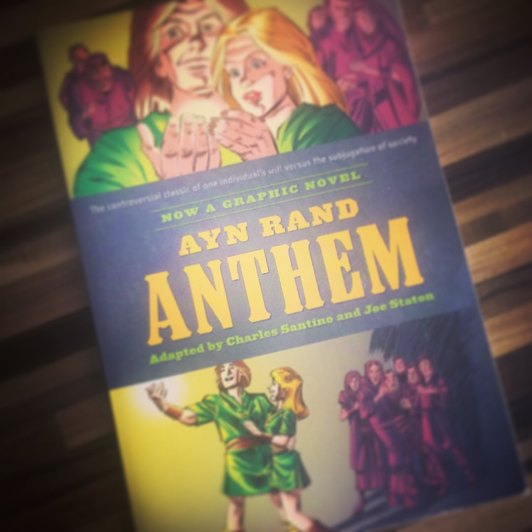 Anthem the graphic book