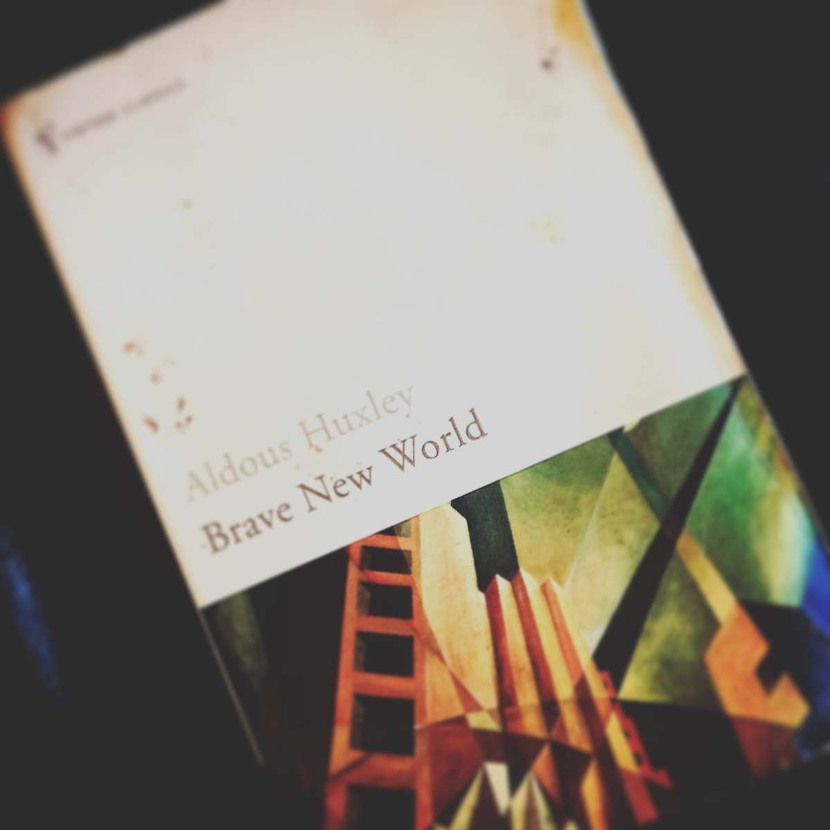Book of da Week: Brave New World by Aldous Huxley