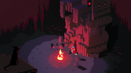 Hyper Light Drifter in game graphics