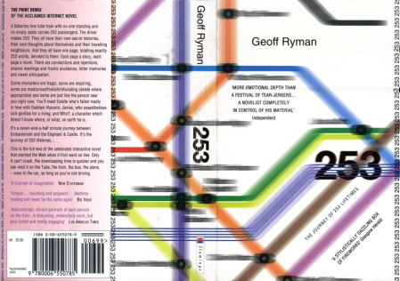 253 by Geoff Ryman