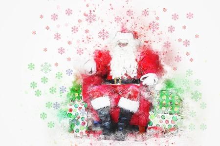 Santa Exclusive Christmas Column