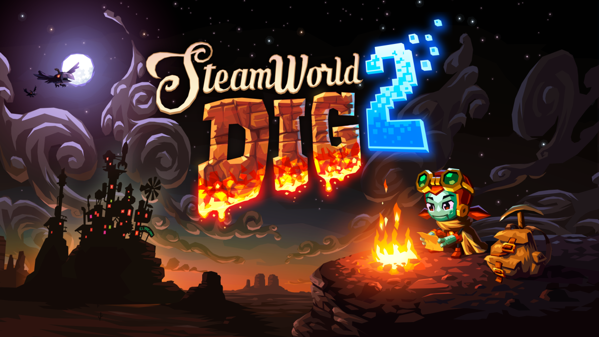 SteamWorld Dig 2: It's Here and It's Awesome... Hell Yeah!