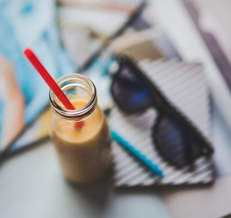 A lassi yoghurt drink