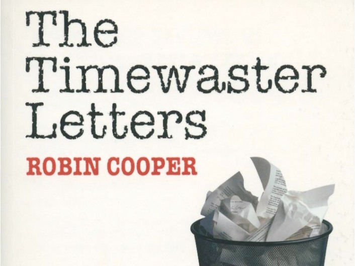 The Timewaster Letters by Robin Cooper