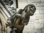 A gargoyle in anguish