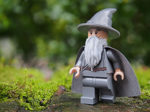 Gandalf in Lego form