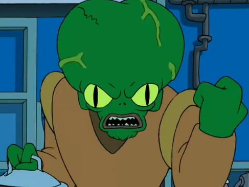 In Praise Of Morbo From Futurama Professional Moron