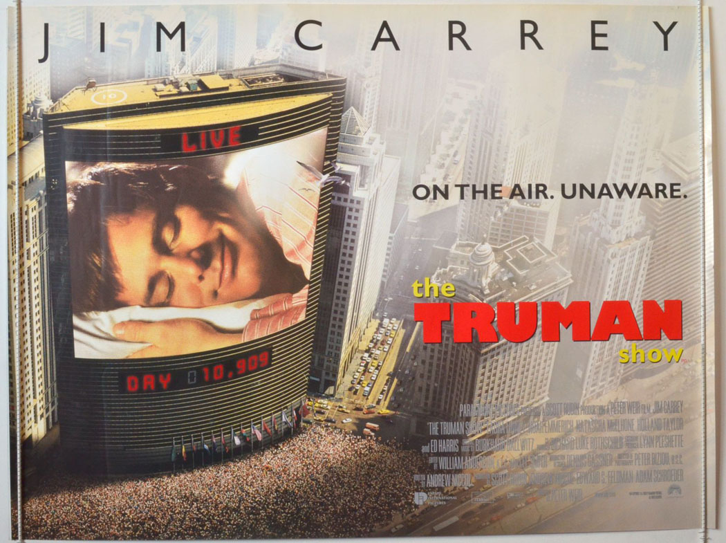The Truman Show: Cheerfully Frightening Sci-Fi Satire Nears 20 ...