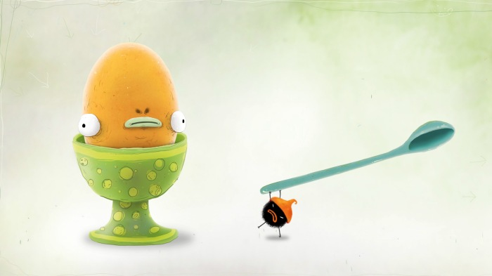 Chuchel VS an enormous egg