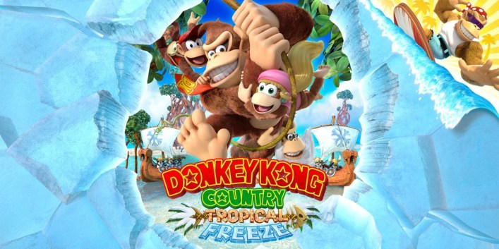 Donkey Kong Country - Tropical Freeze on the Nintendo Switch