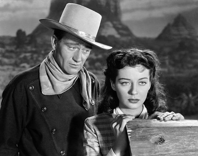 John Wayne acting