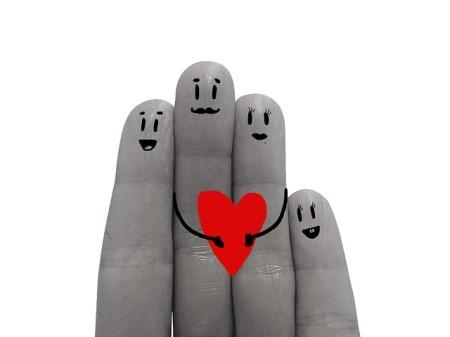 Finger family.