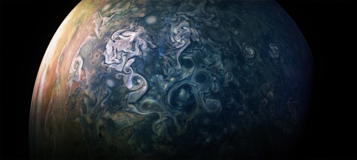 Juipter Juno NASA image