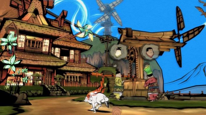 Okami gameplay