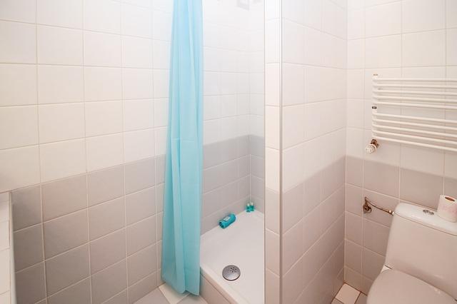 A shower unit.