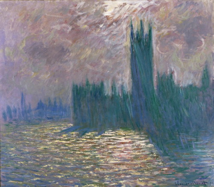 Claude Monet - Foggy London 1905