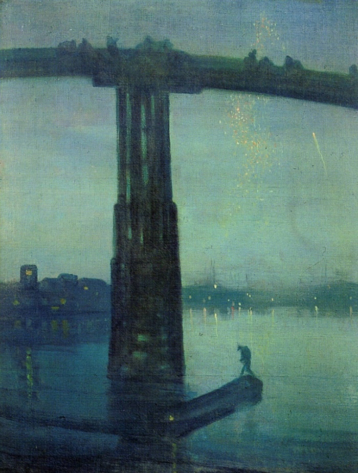 James Abbott McNeill Whistler - Nocturne Blue and Gold – Old Battersea Bridge