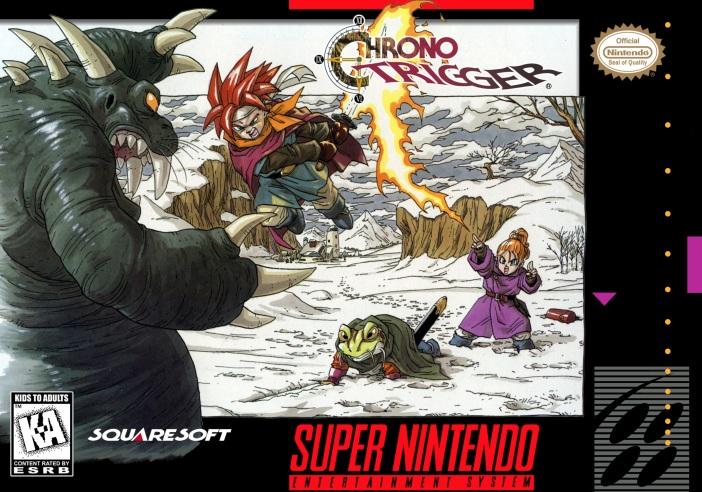 Chrono Trigger on the Super Nintendo