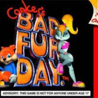 Conker's Bad Fur Day: Swearing?! Yes! **** Off!