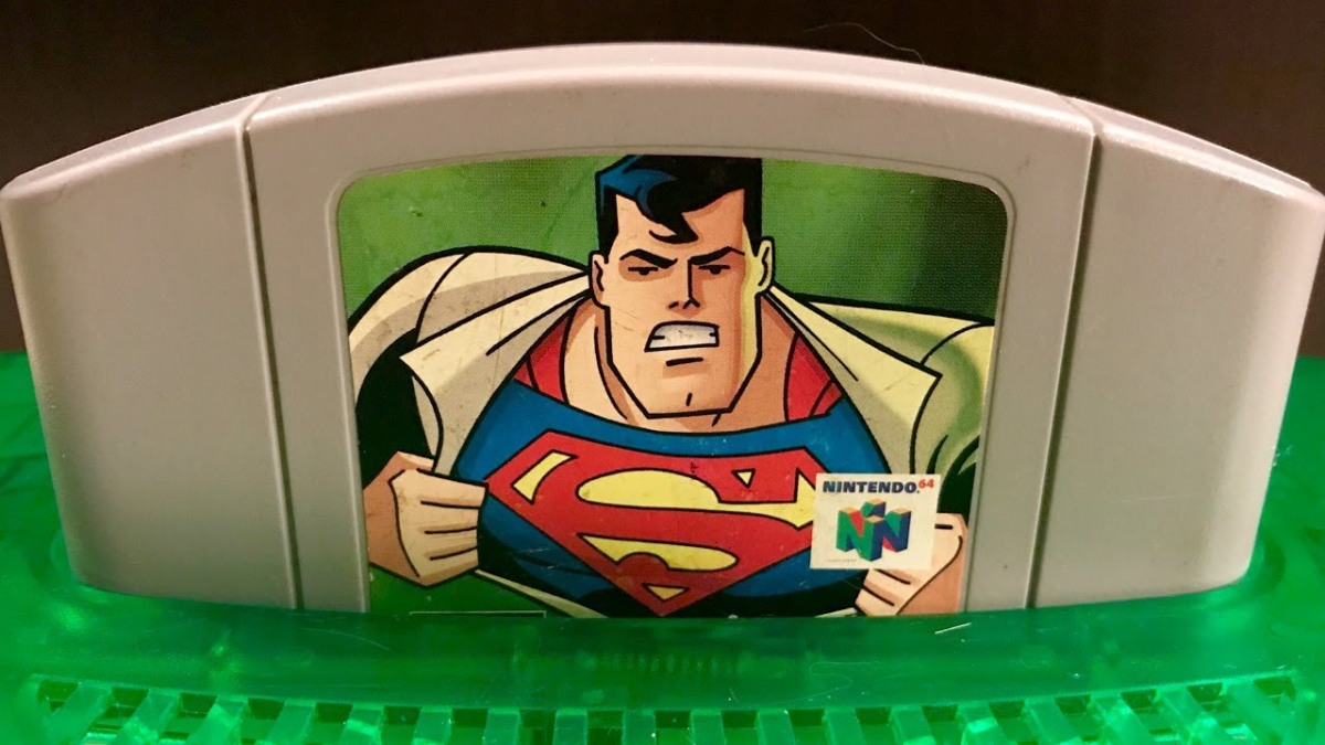Superman on the N64: Mike Matei's Heroic Playthrough Journey
