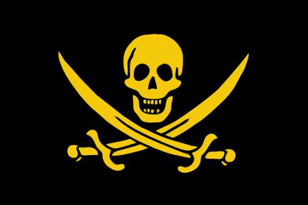 Death skull flag