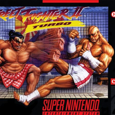 Street Fighter II Turbo on the SNES