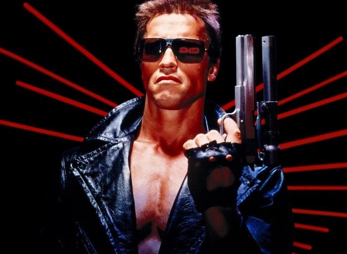 The Terminator (1984) with Arnold Schwarzenegger
