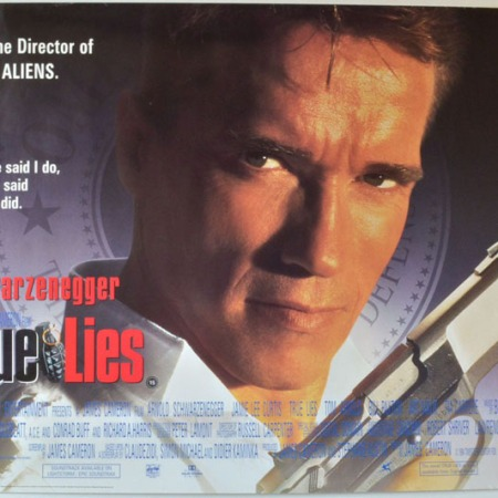 True Lies - Starring Arnold Schwarzenegger