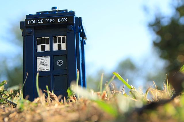 Doctor Who telephone box