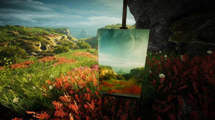 Eastshade painting
