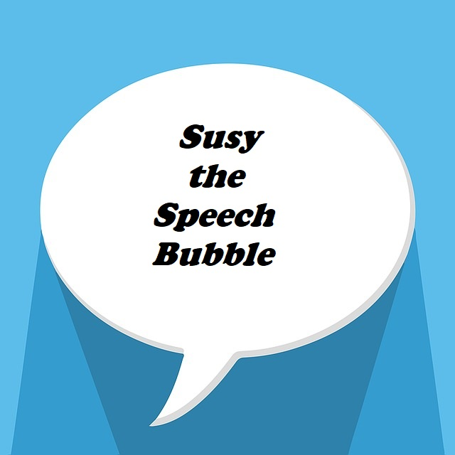 Short Story: Susy the Speech Bubble