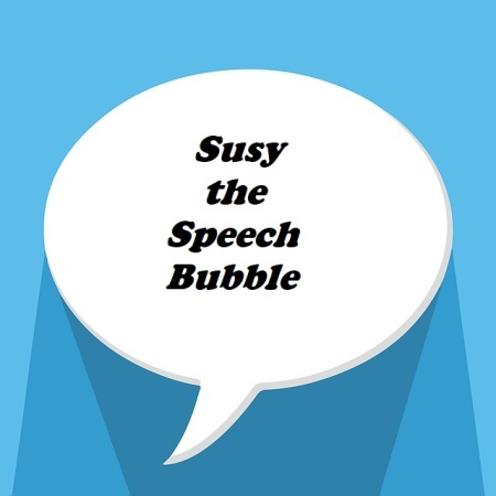 Susy the Speech Bubble