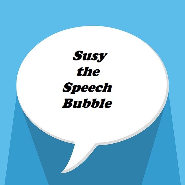 Susy the Speech Bubble