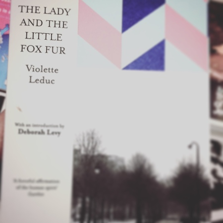 The Lady annd the Little Fox Fur by Violette Leduc