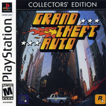 Grand Theft Auto on the PlayStation