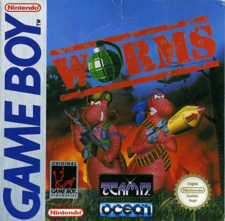 Worms on the Game Boy