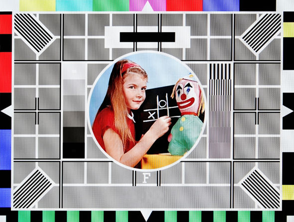 BBC Test Card F