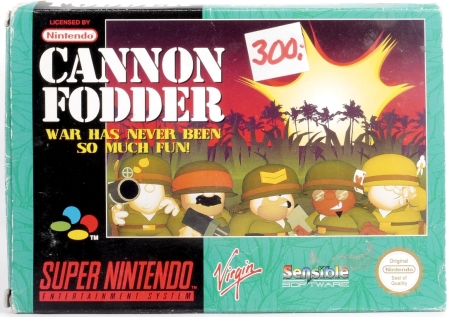 Cannon Fodder on the SNES