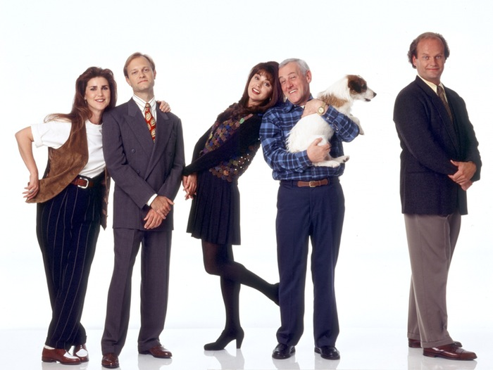 Frasier and the show's cast